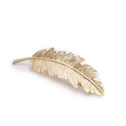 Feather clip Gold