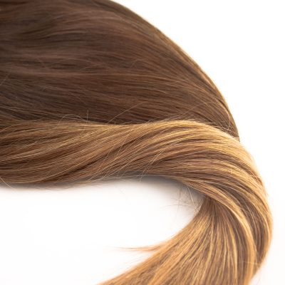 CLIPS CHOCOLATE BROWN TO DARK COPPER BLONDE OMBRE