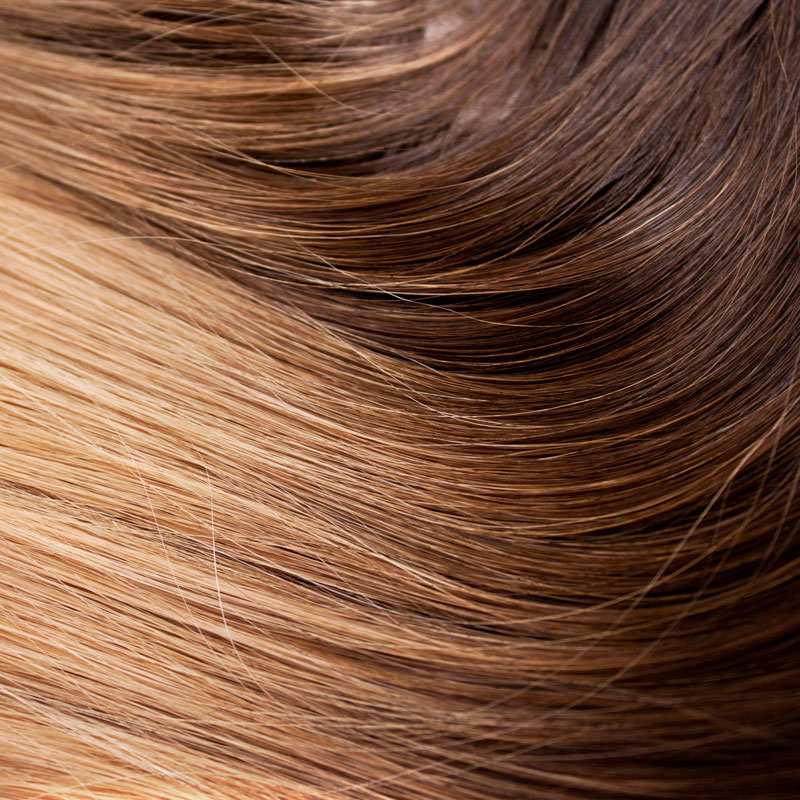 BANDES ADHÉSIVES OMBRÉ BRUN CHOCOLAT À BLOND STRAWBERRY