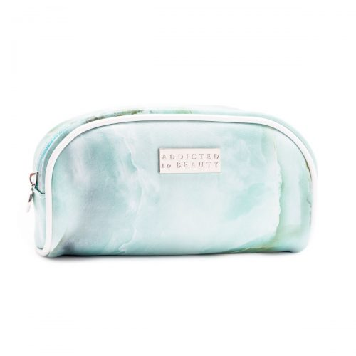 Marble makeup pouch (small) Turquoise